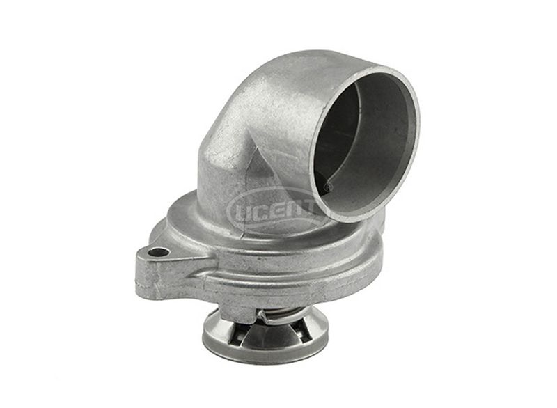 Auto Engine Cooling System Thermostat Housing Coolant For Mercedes-Benz 6012030075 6012030575