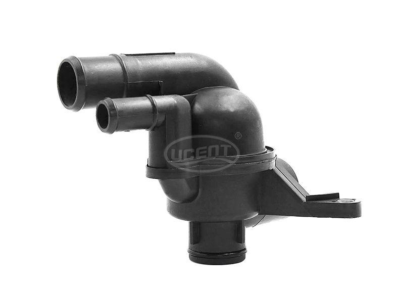 Car Engine Coolant Thermostat Housing Assembly for 2002-2005 Land Rover Freelander PEM000030